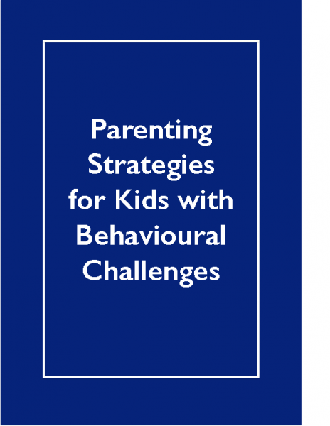 NESTS — Parenting Strategies for Kids with Behavioural Challenges